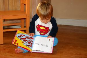 Choosing Books: From newborns to preschoolers