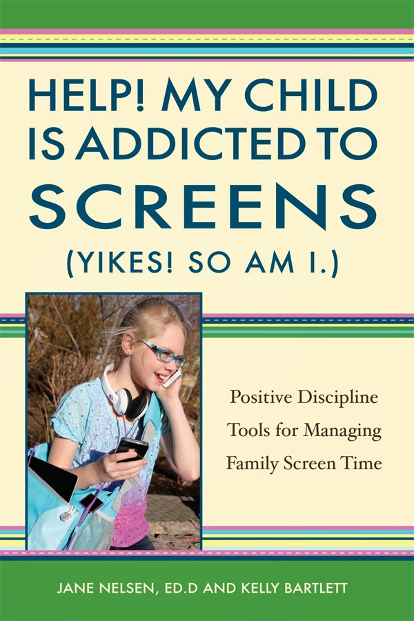 Limit Screen Time By Jane Nelsen of Positive Discipline